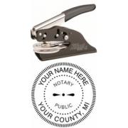 Michigan Notary Impression Seal Embosser